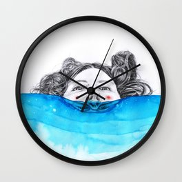 Immersion Wall Clock
