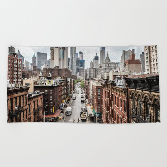 New york City USA Beach Towel