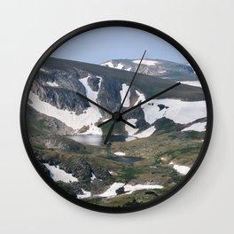 Mountain Lake pt. V Wall Clock