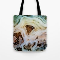 geology Tote Bags featuring THE BEAUTY OF MINERALS by Catspaws
