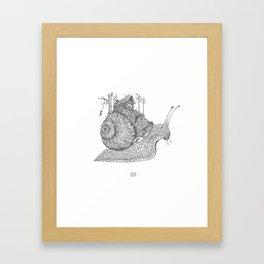 My Own Pace Framed Art Print