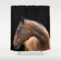 danny ivan Shower Curtains featuring Danny by anipani