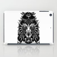 demon iPad Cases featuring Demon by MIRKOW GASTOW