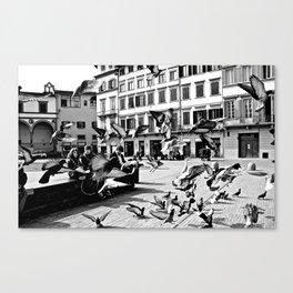 Gli Uccelli Canvas Print