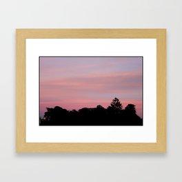 alamo square, sf Framed Art Print