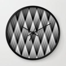 Silvery Wall Clock