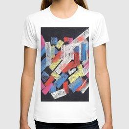 Multicolor construct T-shirt