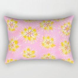 Apricot Petal Rose Rectangular Pillow
