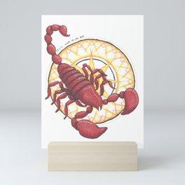 Scopion Mini Art Print