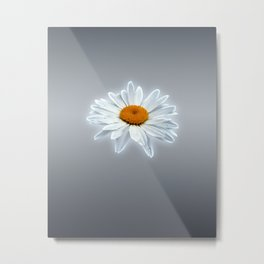 Glowing Daisy Metal Print