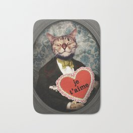 Je t'aime - Kitty Love Bath Mat