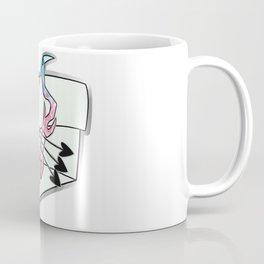 Trans Pride Crystal Bow Coffee Mug