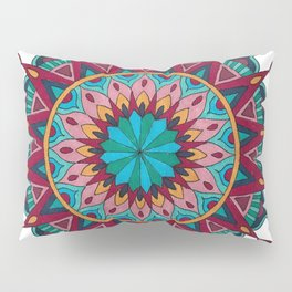 Heart and Soul Mandala Pillow Sham