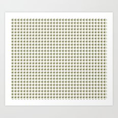 Floral Pattern - JUSTART (c) Art Print