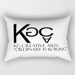 KG Creative Arts Logo Rectangular Pillow