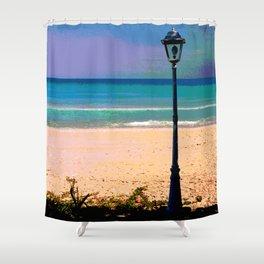 Beachlamp Shower Curtain