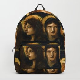 "Simeon Solomon ""Love, Joy, Peace, Long Suferng, Gentleness, Goodness, Faith, Meekness, Temperance"" Backpack"