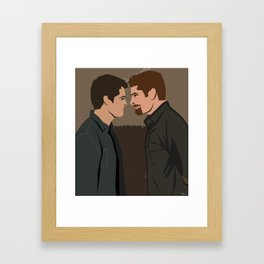 Supernatural Warms the Cockles of my Heart Framed Art Print