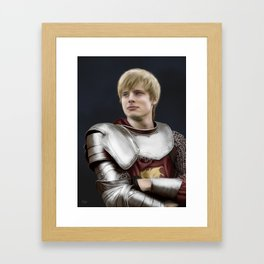 Arthur Pendragon - Once and Future King Framed Art Print