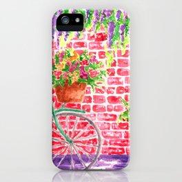 Vintage Bicycle iPhone Case
