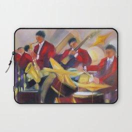 Harlem Renaissance Savoy Ballroom Jazz Age African American Musical portrait painting M. Fillonneau Laptop Sleeve