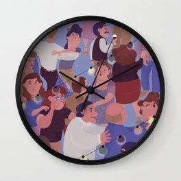 Sunday at the dance hall Wall Clock