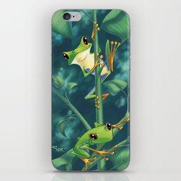 I Love Being Green! iPhone Skin