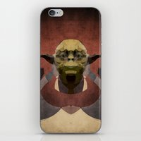 yoda iPhone & iPod Skins featuring Yoda by lazylaves