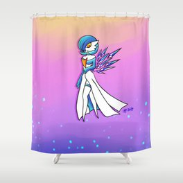 Crystal Gardevoir Shiny Shower Curtain