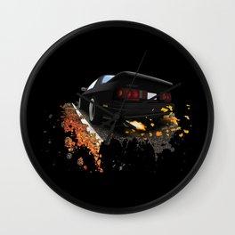 Mazda RX7 FC Wall Clock