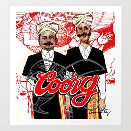 Coorg Art Print