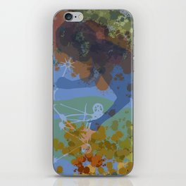 Voyager (Blue) iPhone Skin