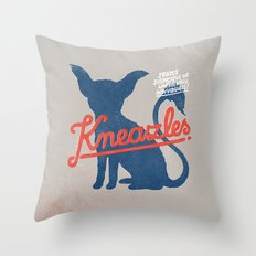 Kneazles Throw Pillow