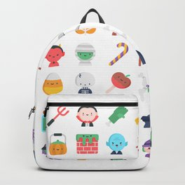 CUTE HALLOWEEN COSTUME FALL PATTERN Backpack