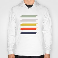 parks and rec Hoodies featuring Rec Stripes by After Hours