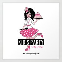 Kid's Party Project Art Print