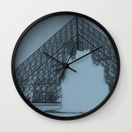 Louvre Fountain Wall Clock