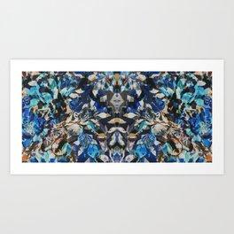Rorschach Flowers 9 Art Print
