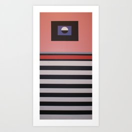 THE LENTICULAR GRAVITATION Art Print