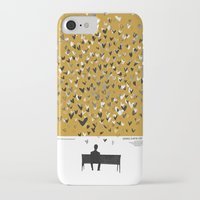500 days of summer iPhone & iPod Cases featuring 500 Days of Summer movie poster by Adam Juresko