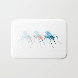 Mosquitoes / Abstract animal portrait. Bath Mat