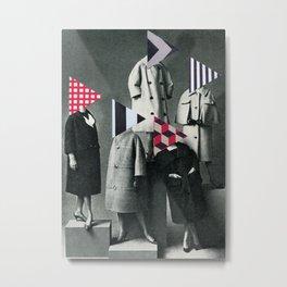 Fashion Forward Metal Print