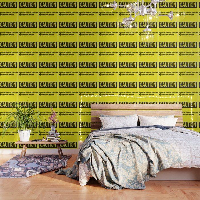 Sarcasm May Lead to Divorce Text Design Wallpaper