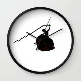 Bull Market Wall Clock