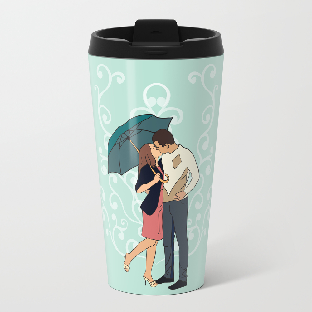 Love In The Rain Travel Mug TRM998589