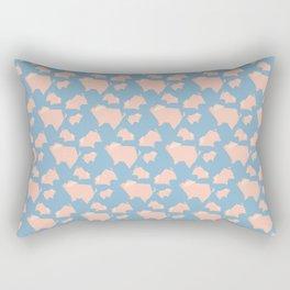 Paper Pigs (Patterns Please) Rectangular Pillow