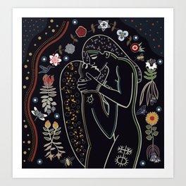 Sacred Kiss IV Art Print