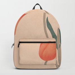 Orange Tulips Backpack