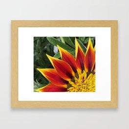 Flame Oh! Framed Art Print
