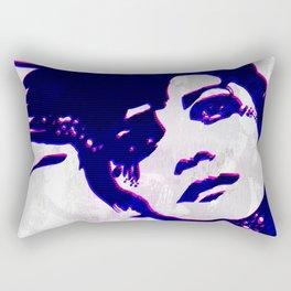 the rebel girl Rectangular Pillow